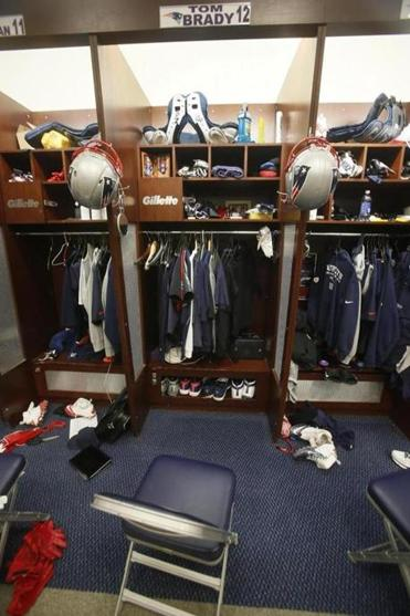 The Patriots are prepared for just about everything, even the empty locker stall of Tom Brady.